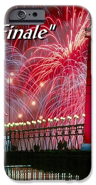 Grand Haven - Grande Finale iPhone Case by Robert Lyndall