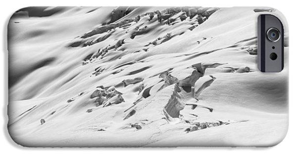Glacier iPhone Cases - Granite Glacier iPhone Case by Ian Stotesbury