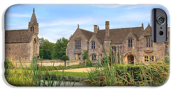 Wiltshire iPhone Cases - Great Chalfield Manor iPhone Case by Joana Kruse