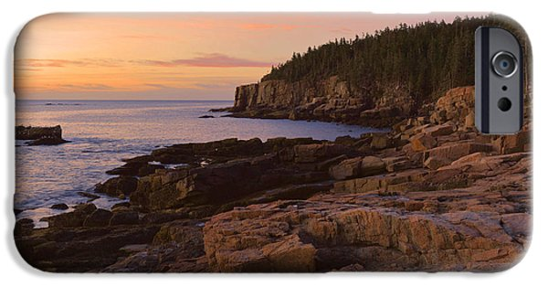 Gulf Of Maine iPhone Cases - Gulf Of Maine Sunrise iPhone Case by Stephen  Vecchiotti