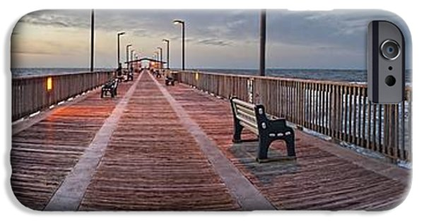 Michael iPhone Cases - Gulf State Pier iPhone Case by Michael Thomas