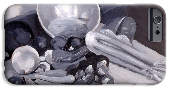 Impressionism Sculptures iPhone Cases - Hacunda Still Life iPhone Case by Dan Redmon