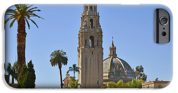 Tall Trees iPhone Cases - Balboa Park - The Soul of San Diego iPhone Case by Christine Till