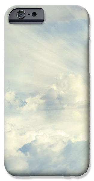 Hands in sky iPhone Case by Les Cunliffe