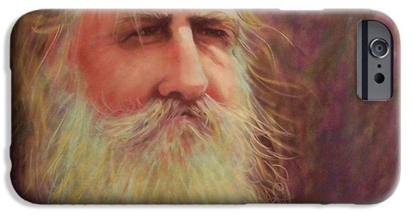 Old Man With Beard iPhone Cases - Handyman iPhone Case by Cynthia Pierson