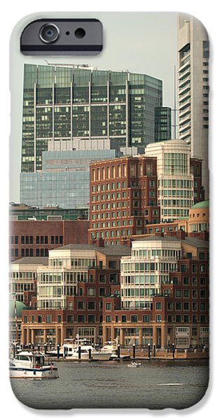 Boston iPhone Cases - Harbor View iPhone Case by Paul Mangold