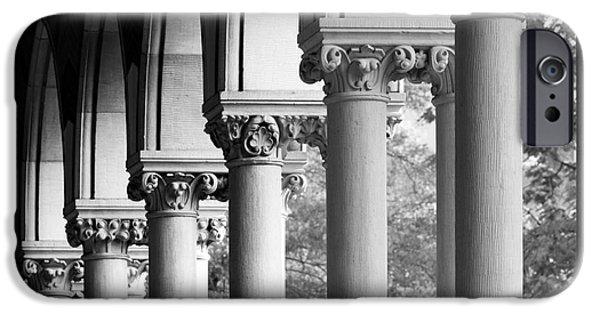 Cambridge iPhone Cases - Harvard University Memorial Hall iPhone Case by University Icons