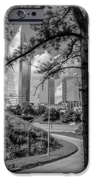 Charlotte iPhone Cases - Heading into Charlotte iPhone Case by Mountain Dreams