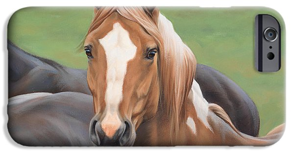 Barns iPhone Cases - Heads Up iPhone Case by JQ Licensing