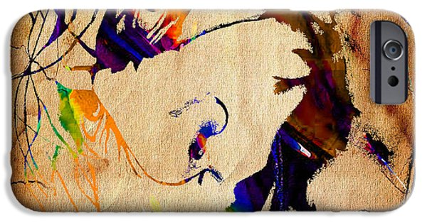 Batman iPhone Cases - Heath Ledger The Joker Collection iPhone Case by Marvin Blaine