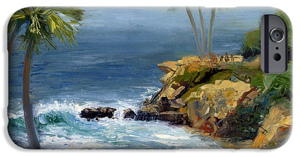 Heisler Park iPhone Cases - Heisler Park iPhone Case by Alice Leggett