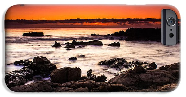 Heisler Park iPhone Cases - Heisler Park Sunset iPhone Case by David Daniel Adventures