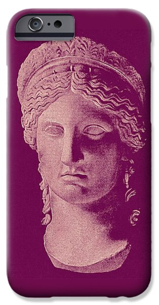 Hera iPhone Cases - Hera iPhone Case by Ellen Henneke