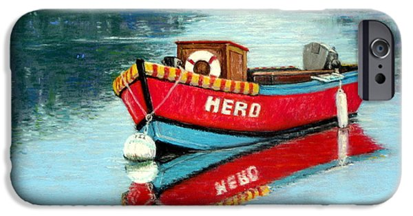 Transportation Pastels iPhone Cases - Hero iPhone Case by Tanja Ware