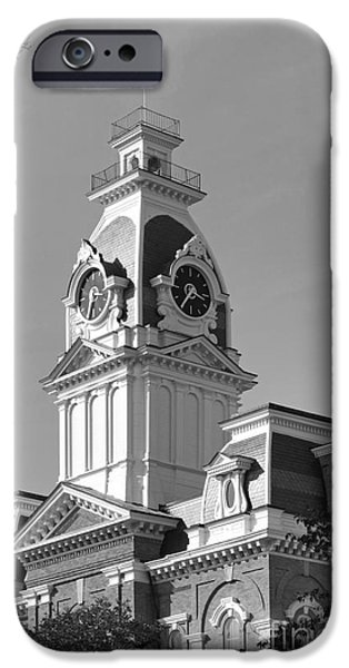 Conservative iPhone Cases - Hillsdale College Central Hall iPhone Case by University Icons