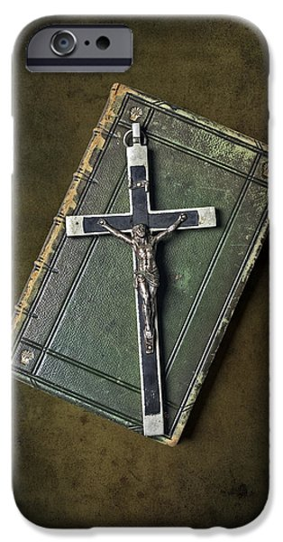 holy book iPhone Case by Joana Kruse