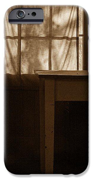 Homestead Kitchen iPhone Case by Bonnie Bruno