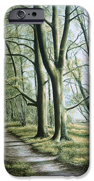 Pathway Pastels iPhone Cases - Hope iPhone Case by Rosemary Colyer