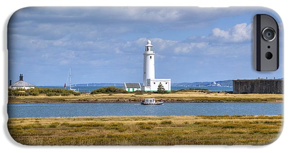 New England Lighthouse iPhone Cases - Hurst Point Lighthouse iPhone Case by Joana Kruse