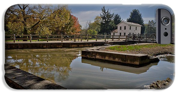 The White House Photographs iPhone Cases - Illinois and Michigan Canal iPhone Case by Tom Phelan