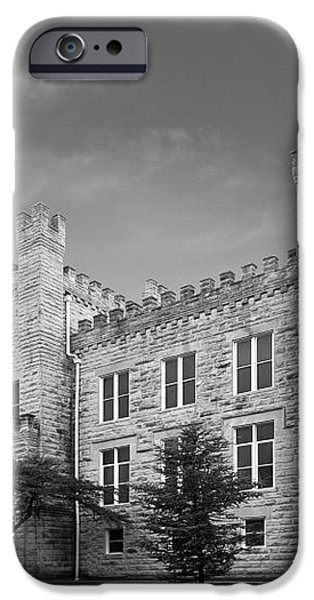 Illinois State University Cook Hall iPhone Case by University Icons