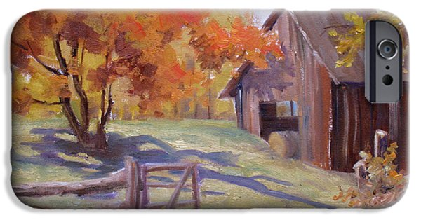 Bales Paintings iPhone Cases - Immaculate iPhone Case by Mohamed Hirji