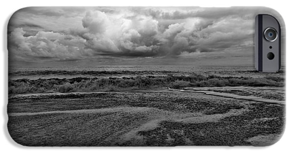 Sun Breaking Through Clouds iPhone Cases - Impression iPhone Case by Dario Fabijanic