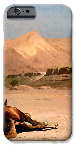 In the Desert iPhone Case by Jean-Leon Gerome