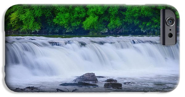 Oak Creek iPhone Cases - Indianhead Dam iPhone Case by Bill Cannon