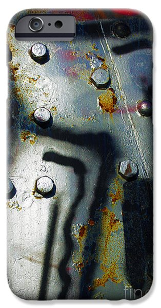 Recently Sold -  - Antiques iPhone Cases - Industrial Detail iPhone Case by Carlos Caetano