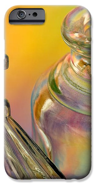 Ink Bottles on Color iPhone Case by Carol Leigh