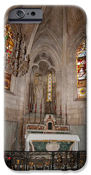 Arles iPhone Cases - Interiors Of The Church Of St iPhone Case by Panoramic Images