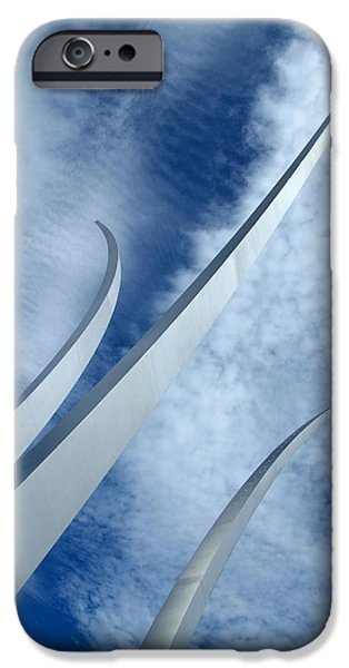 Cora Wandel iPhone Cases - Into The Clouds iPhone Case by Cora Wandel