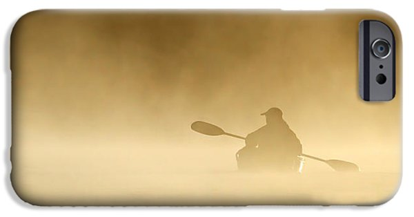 Fog Mist iPhone Cases - Into the Mist iPhone Case by Jim Cumming