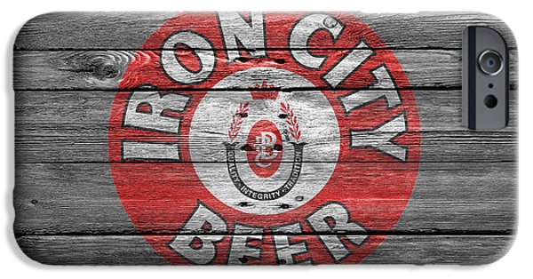 Crate iPhone Cases - Iron City Beer iPhone Case by Joe Hamilton