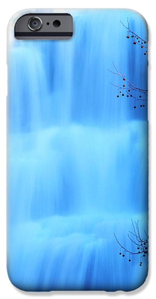 Ithaca Water Falls New York  iPhone Case by Paul Ge