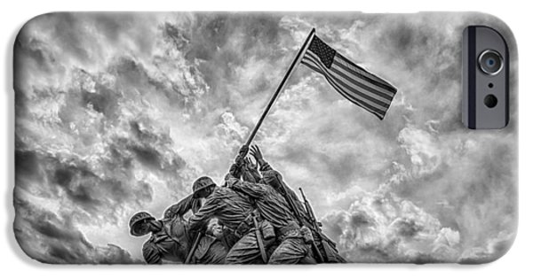 United States iPhone Cases - Iwo Jima Memorial iPhone Case by Susan Candelario