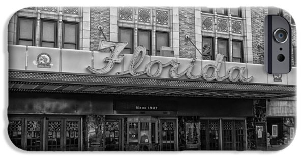 Overhang iPhone Cases - Jacksonvilles Historic Florida Theatre iPhone Case by Mountain Dreams