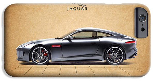 Jaguars iPhone Cases - Jaguar F Type iPhone Case by Mark Rogan