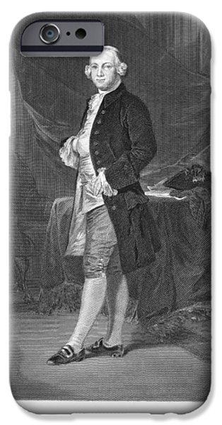 American Revolution iPhone Cases - James Otis (1725-1783) iPhone Case by Granger