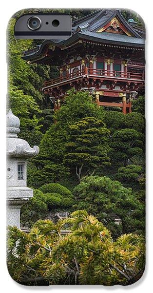 Buddhist iPhone Cases - Japanese Tea Garden Golden Gate Park iPhone Case by Adam Romanowicz