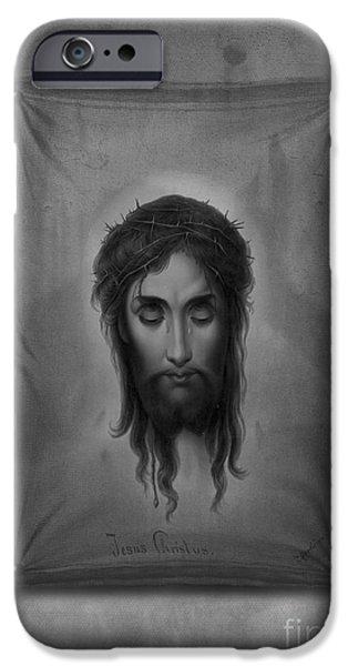 Jesus Photographs iPhone Cases - Jesus Christus iPhone Case by Edward Fielding
