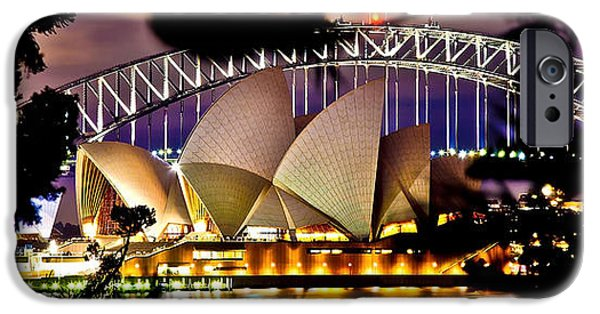 House iPhone Cases - Jewel Of The Harbour iPhone Case by Az Jackson