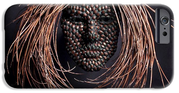 Human Figure Reliefs iPhone Cases - Jeweled iPhone Case by Adam Long