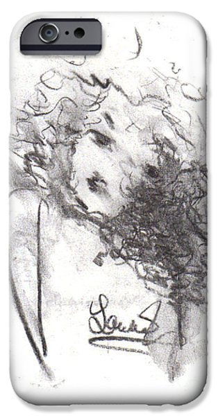 Just Me iPhone Case by Laurie D Lundquist