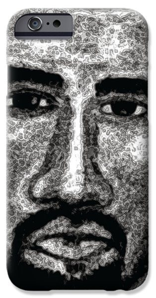 Kanye West iPhone Cases - Kanye  iPhone Case by Ginnie McKnight