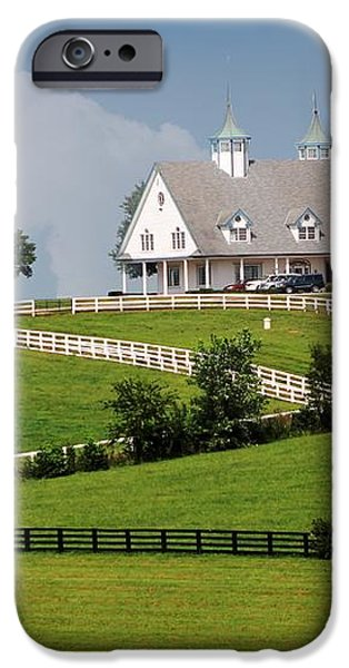 Keeneland Stables iPhone Case by Bruce LaDuke