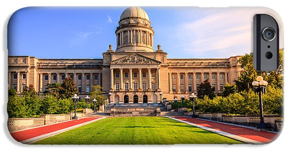Regulations iPhone Cases - Kentucky Capitol iPhone Case by Alexey Stiop