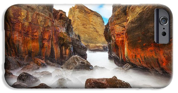 Pacific Ocean Prints iPhone Cases - Keyhole iPhone Case by Darren  White