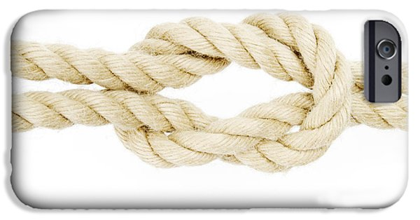 Concept iPhone Cases - Knot in a Rope iPhone Case by Chevy Fleet